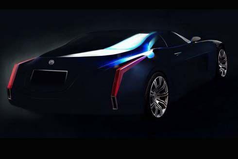 ทีเซอร์ใหม่ Cadillac Glamour Concept สะท้อนเอกลักษณ์งานดีไซน์เต็มขั้น