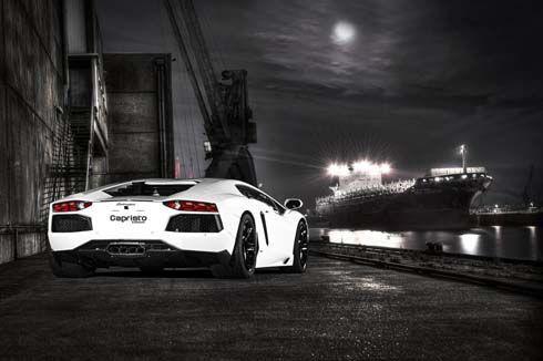 Capristo จับ Lamborghini Aventador ลดน้ำหนัก ให้เร็วกว่าเดิม