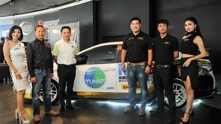 MMS-TUNAP ผนึก 8 พันธมิตรเปิดตัวทีมแข่ง CARZANOVA TUNAP by MMS RACING TEAM สู้ศึกมอเตอร์สปอร์ต 2018