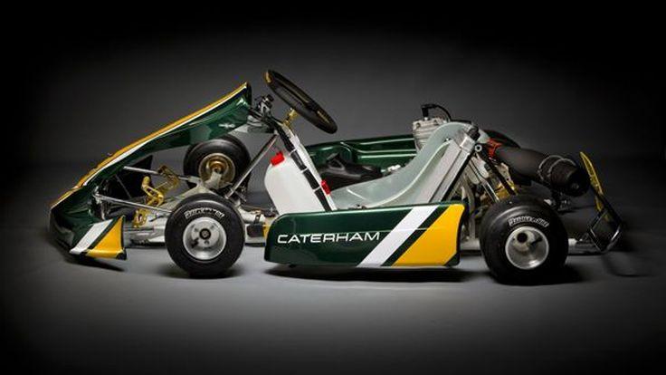Caterham CK-01 kart รถแข่งโกคาร์ทสำหรับแฟนมอเตอร์สปอร์ตรุ่นเยาว์