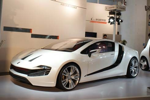 CH Auto เผยโฉม Lithia สปอร์ตคูเป้พลังไฟฟ้า ที่งาน 2012 Beijing Auto Show