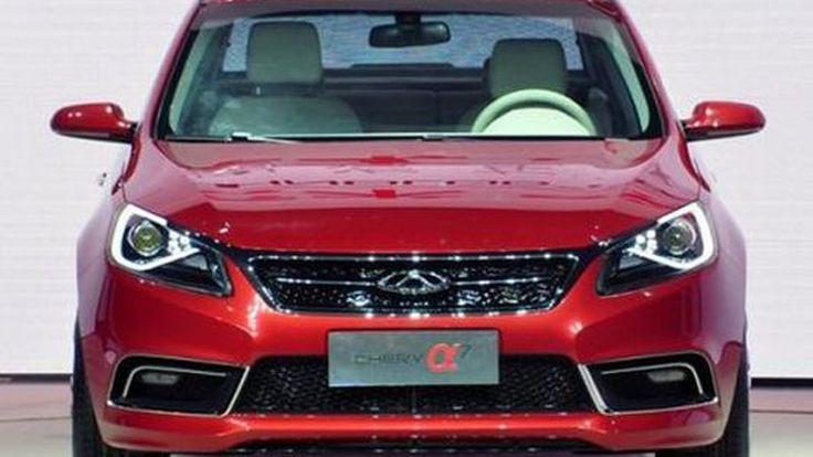 เผยโฉม Chery Alpha 7 Concept รถสัญชาติจีนถอดแบบจากเยอรมนี