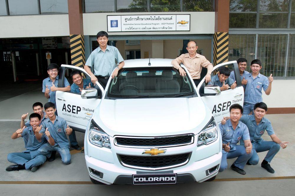 Chevrolet ขยายโครงการศูนย์การศึกษาเทคโนโลยียานยนต์  สู่สถาบันอาชีวศึกษา 10 แห่งในประเทศไทย