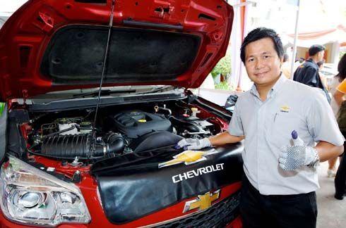 รับสงกรานต์! Chevrolet เชิญชวนลูกค้าทุกท่าน นำรถเข้าตรวจเช็คฟรี 30 รายการที่ศูนย์บริการ