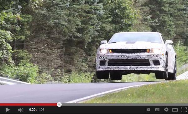สุดยอด! Chevrolet Camaro Z/28 มาพร้อมโหมด Flying Car สำหรับบินขึ้นเนิน