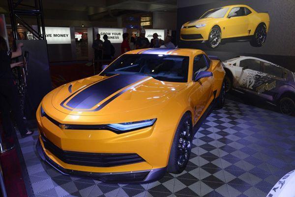 "Chevrolet อวดโฉม Camaro Concept ""Bumblebee"" พระเอกใน Transformers 4"