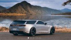 ก็สวยไปอีกแบบ !! Rain Prisk เผยผลงานการออกแบบ Chevrolet Camaro Shooting Brake