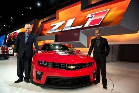 เปิดตัว All-New Chevrolet Camaro ZL1 ปี 2012 ที่ชิคาโก แรงที่สุดเท่าที่เคยสร้าง