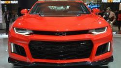 เปิดผ้าคลุม Chevrolet Camaro ZL1 รีดพลังสุดโหด 640 แรงม้า เกียร์ 10 สปีด