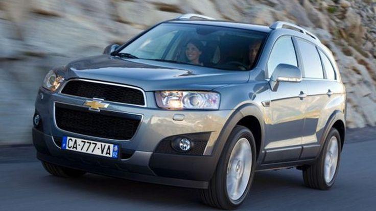 Chevrolet Captiva ถูกจัดอันดับ  จากการสำรวจ JD Power เป็นรถ SUV ที่น่าดึงดูดใจที่สุด