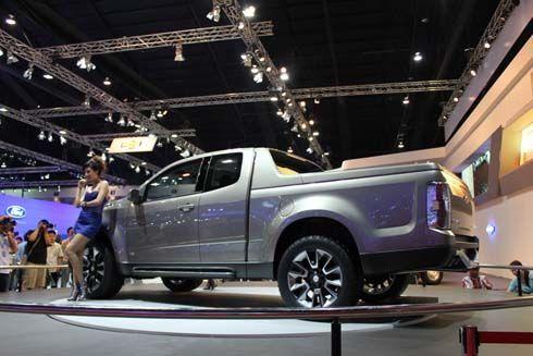 ตัวนี้โหดจริง! Chevrolet Colorado 2011 Concept อวดโฉมที่บางกอกมอเตอร์โชว์