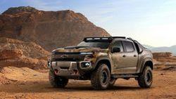 Chevrolet Colorado ZH2 คอนเซปต์กระบะ Fuel Cell สุดเท่พร้อมประโยชน์หลากหลาย สำหรับกองทัพบกสหรัฐฯ