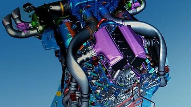 เผยภาพร่างคอมพิวเตอร์ ขุมพลังตัวท็อปของ Chevrolet Corvette รุ่นใหม่