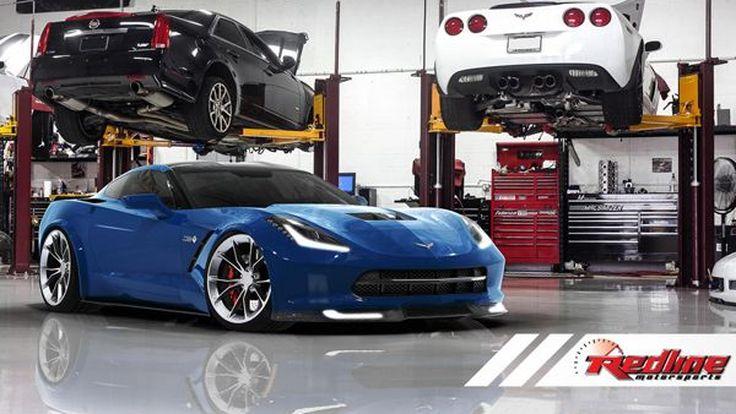 Chevrolet Corvette Stingray ติดเทอร์โบ แต่งโหลดเตี้ยโดย Redline Motorsports