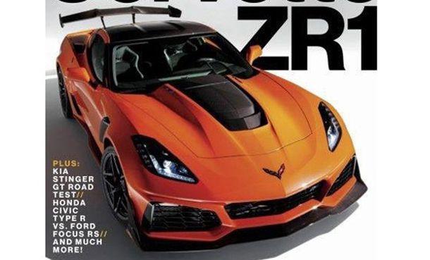 หลุด Chevrolet Corvette ZR1 ก่อนเปิดตัวสัปดาห์หน้า
