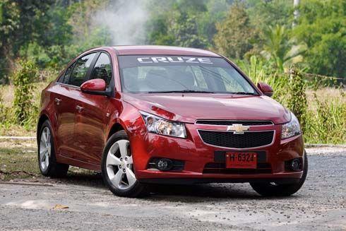 Chevrolet Cruze 2012 มาพร้อมกับพละกำลังที่แรงยิ่งขึ้น และเป็นมิตรกับสิ่งแวดล้อม