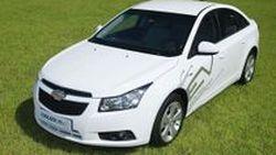 Chevrolet Cruze/Daewoo Lacetti EV รถไฟฟ้าต้นแบบ 201 แรงม้า เตรียมทดสอบในเกาหลีใต้