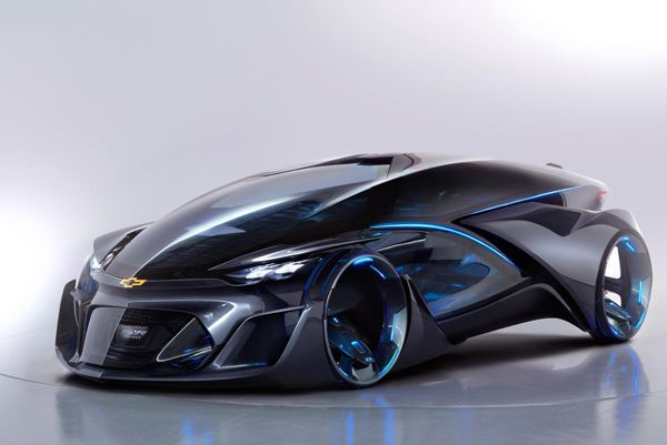 หลุดจากโลกอนาคต! Chevrolet-FNR รถพลังไฟฟ้าขับขี่อัตโนมัติ