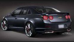 Chevrolet Malibu Turbo Performance Concept มิดไซส์ซีดานแต่งสปอร์ต