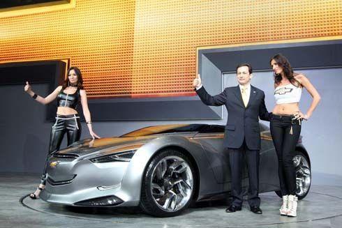GM เปิดตัว Chevrolet Miray Concept รถไฮบริดไฟฟ้าที่งาน 2011 Seoul Motor Show