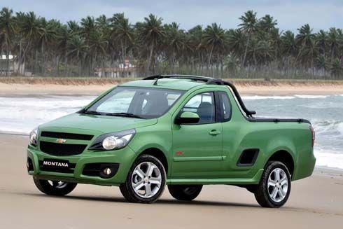 Chevrolet Montana ปี 2011 กระบะปิกอัพเล็ก หน้าใหม่ดีไซน์พิมพ์มาตรฐาน เจาะตลาดอเมริกาใต้