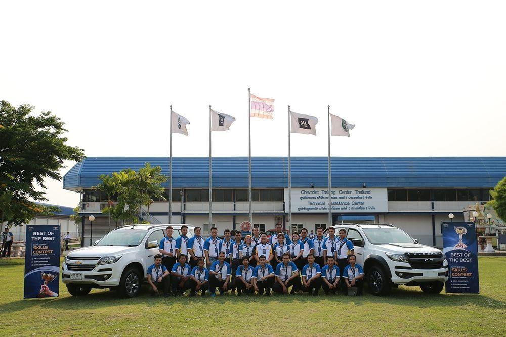 เชฟโรเลต จัดการแข่งขันทักษะพนักงานด้านเทคนิคและการบริการของผู้จัดจำหน่ายในเอเชียตะวันออกเฉียงใต้