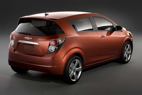 Chevrolet Sonic ชื่อใหม่ในร่าง Aveo เตรียมผลิตปีหน้า ป้อนตลาดอเมริกาเหนือ