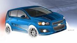 สปอร์ตถึงใจ Chevrolet เผยโฉม Sonic B-Spec รถแข่งรุ่นต้นแบบ