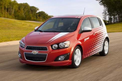 2012 Chevrolet Sonic Z-Spec 1 เติมความสปอร์ตให้รถซับคอมแพกต์ที่ SEMA Show
