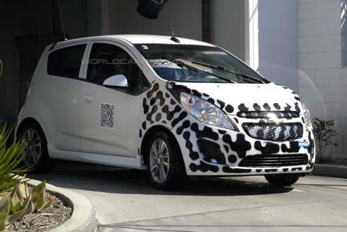 Chevrolet Spark EV รถเล็กพลังงานไฟฟ้าจ่อเผยโฉมที่ลอสแองเจลิส ออโต้โชว์