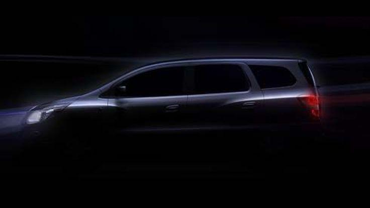 Chevrolet Spin (เชฟโรเลต สปิน) รถอเนกประสงค์เอ็มพีวี 7 ที่นั่งรุ่นใหม่ที่อินโดนีเซีย