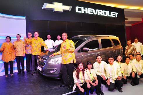 เปิดตัว Chevrolet Spin 2013 รถอเนกประสงค์เอ็มพีวีที่อินโดนีเซีย ก่อนบุกไทย