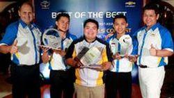 ผู้เข้าแข่งขันคนไทยคว้าที่แชมป์ด้านการขาย เชฟโรเลต เทรนนิ่ง อคาเดมี Chevrolet Training Academy