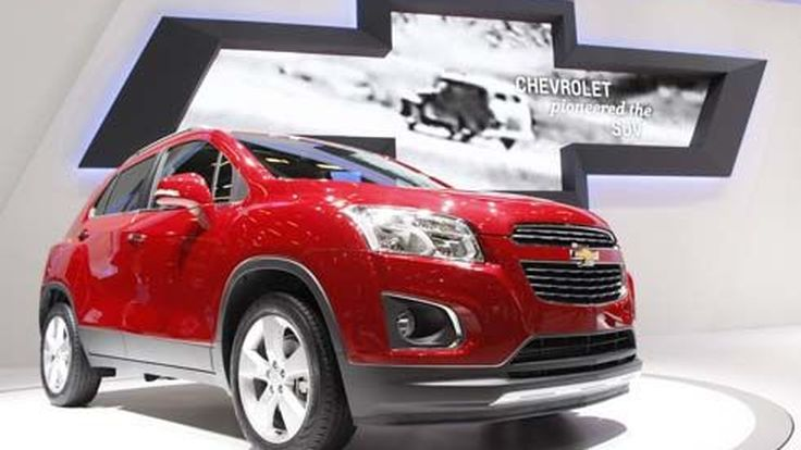 Chevrolet Trax เชฟโรเลต แทรกซ์ เปิดตัวครั้งแรกในโลกที่ปารีส