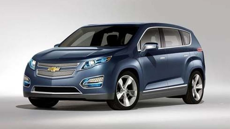 Chevrolet Volt MPV5 รถแนวคิด Crossover ไฟฟ้า ระยะทางทำการ 482 กม. โชว์ตัวที่ปักกิ่ง