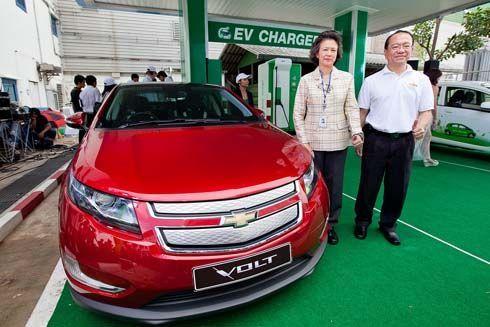 Chevrolet Volt ร่วมเปิดสถานีประจุไฟฟ้าต้นแบบแห่งแรกในไทยของ ปตท.
