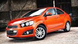 Chevrolet คว้ารางวัลรถที่มีรูปลักษณ์สะดุดตาเหนือคู่แข่ง Volt Sonic Avalanche และ Buick Encore