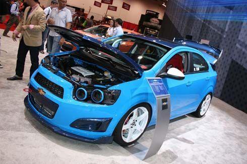 รวมภาพ Chevrolet Sonic แต่งสวย ทั้งตัวถังแบบ hatchback และ sedan