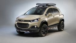Chevrolet TRAX Active Concept เปิดตัวครั้งแรกภายในงาน SEMA 2016