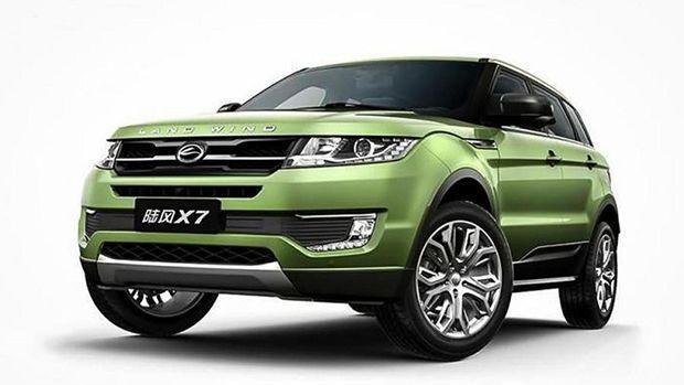 """Land Rover เดินหน้าฟ้องบริษัทจีนข้อหาลอกเลียนแบบ """"Evoque"""""""