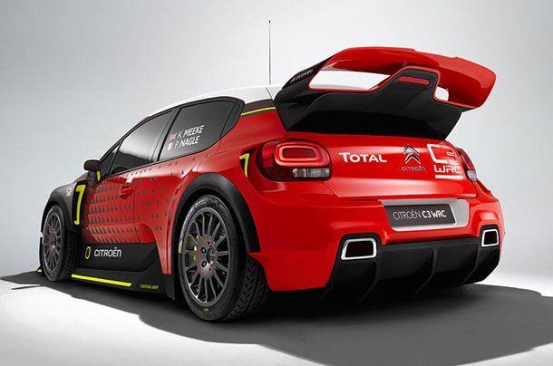 Citroën อวดโฉมรถแข่งต้นแบบ C3 WRC Concept