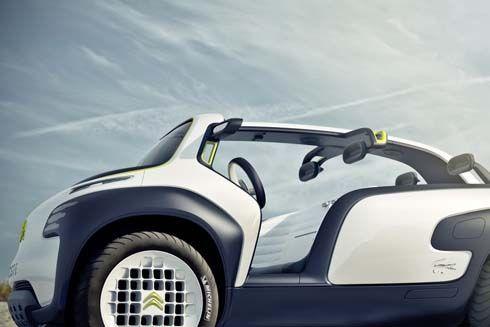 Citroen Lacoste Concept รถแนวคิดเล็กดีไซน์ล้ำ หลังคา T-Shape เข้าร่วม Paris Motor Show