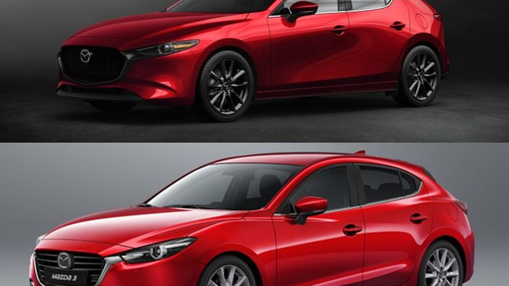 เปรียบเทียบ 2019 Mazda 3 กับ โฉมปัจจุบัน