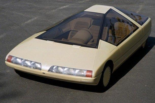 คอนเซปต์คาร์ที่ถูกลืม ?? ซีตรอง คาริน รถยนต์สุดแนวรูปทรงสามเหลี่ยมพีรามิด