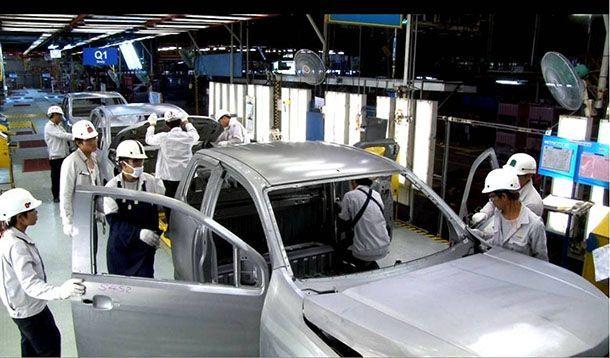 ยอดผลิตรถ - ตัวเลขส่งออกเดือนมิถุนายนปรับลดลง ขณะยอดขายในประเทศเพิ่มขึ้น