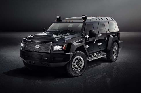 Conquest เผยภาพ Evade SUV สุดแกร่งสำหรับบุคคลสำคัญระดับevadeประเทศ
