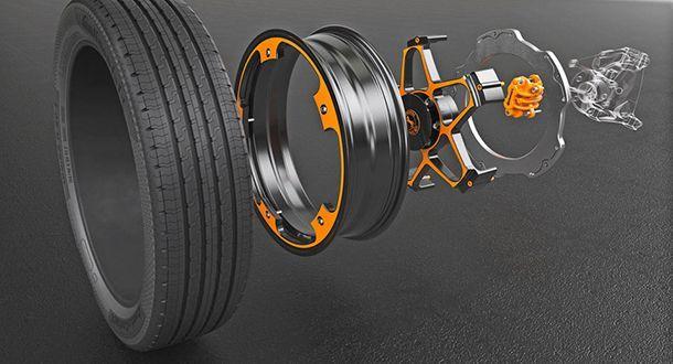 Continental คิดค้นล้อและเบรกเทคโนโลยีใหม่สำหรับรถพลังงานไฟฟ้า