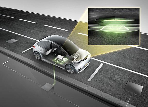 Continental จะเปิดตัวระบบชาร์จไฟฟ้าแบบไร้สายในเดือนหน้า