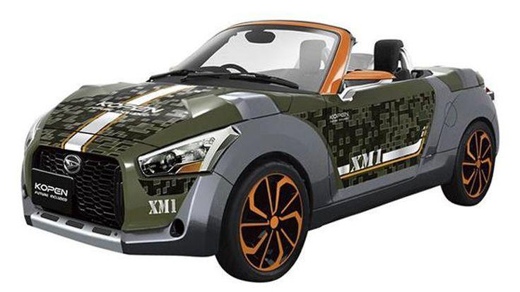 Daihatsu จ่ออวดความหล่อ Kopen รถเปิดประทุนแต่งต้นแบบที่โตเกียว