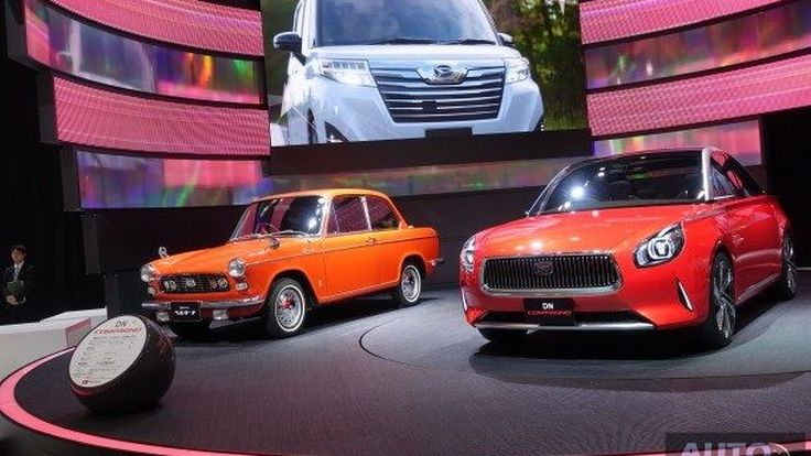[Tokyo2017] พาทัวร์ค่ายรถเล็ก น่ารัก สดใส Daihatsu แต่ละคันน่ารักๆ ทั้งนั้น